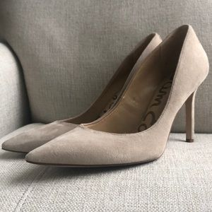 Sam Edelman leather suede pumps